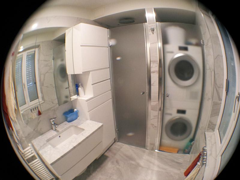 Bagno su misura milano lacasapensata for Arredare bagno piccolo con lavatrice