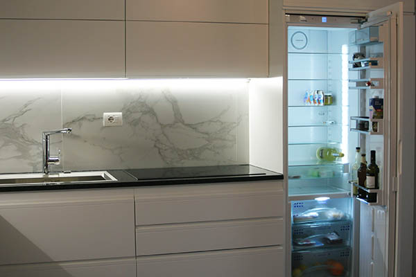 Beautiful Luce Sottopensile Cucina Images - Ideas & Design 2017 ...