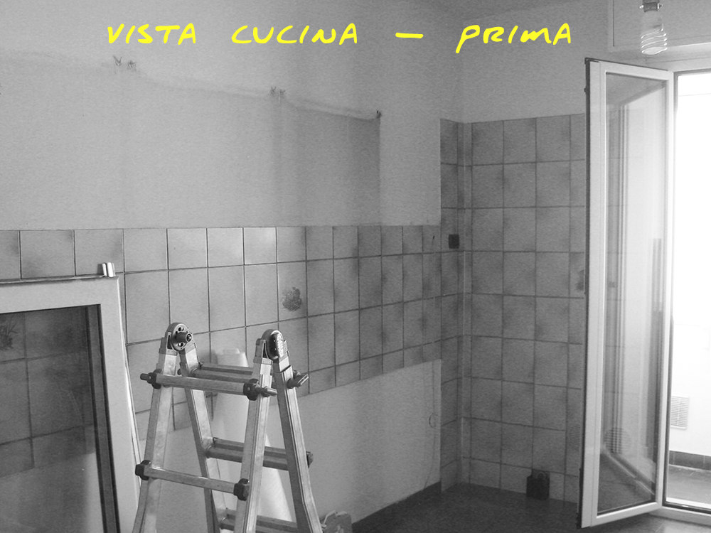 cucina prima ristrutturazione