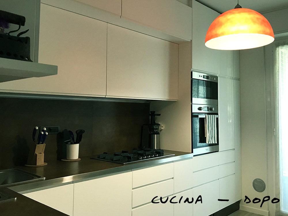 cucina dopo ristrutturazione
