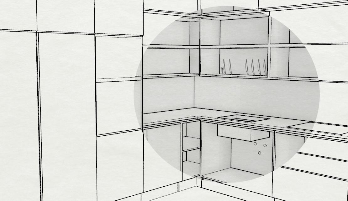 progetto arredamento online ? progetti di interni - Progettazione Cucine Online