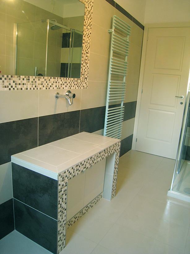 Mobile bagno muratura progetti di interni - Bagno in muratura moderno ...