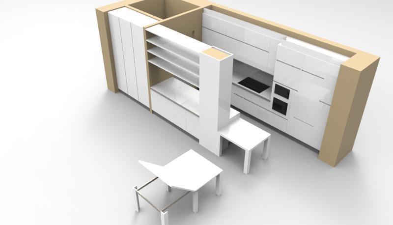 Progetto di cucina su misura milano - Cucina su misura mondo convenienza ...