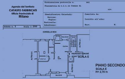 Pratiche edilizie milano aggiornamento piantina catastale for Consulenza architetto online