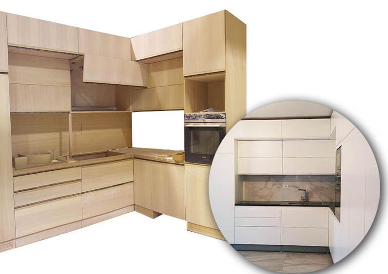 progettazione cucine su misura milano