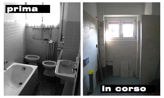come abbiamo ristrutturato il bagno