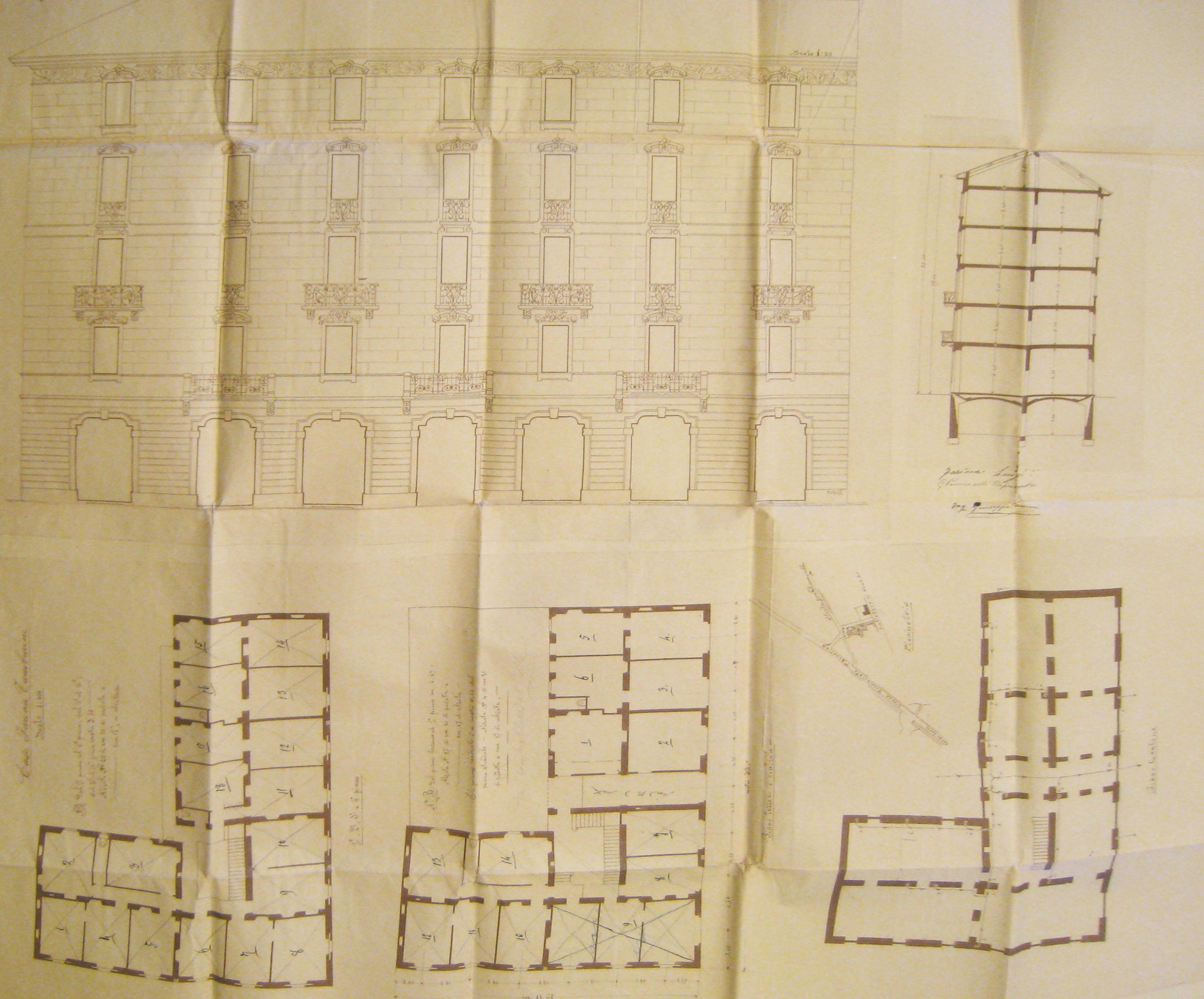 Concessione edilizia edificio antico