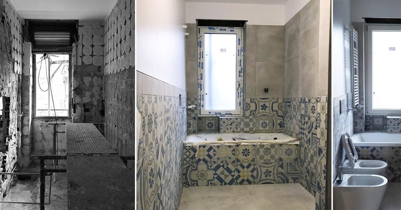 Trasformazione del bagno
