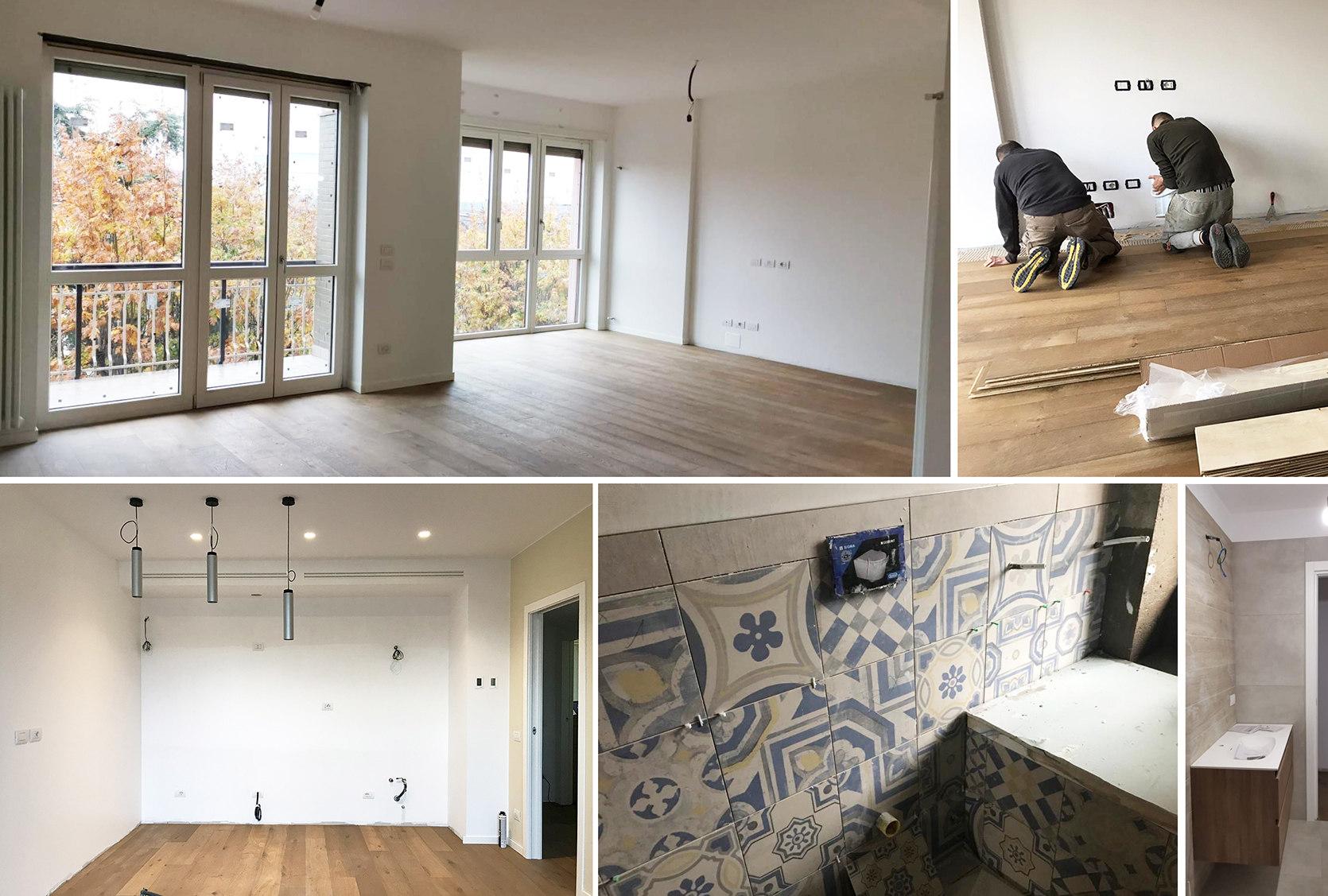Spostamento muri interni appartamento