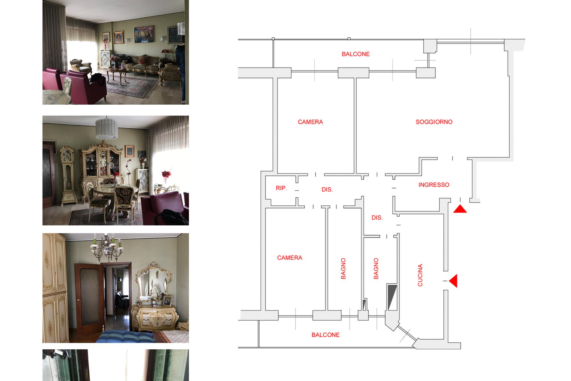 Variazione planimetria appartamento