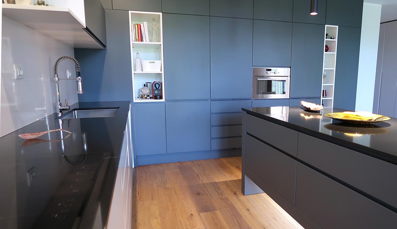 Cucina su misura spazio di lavoro