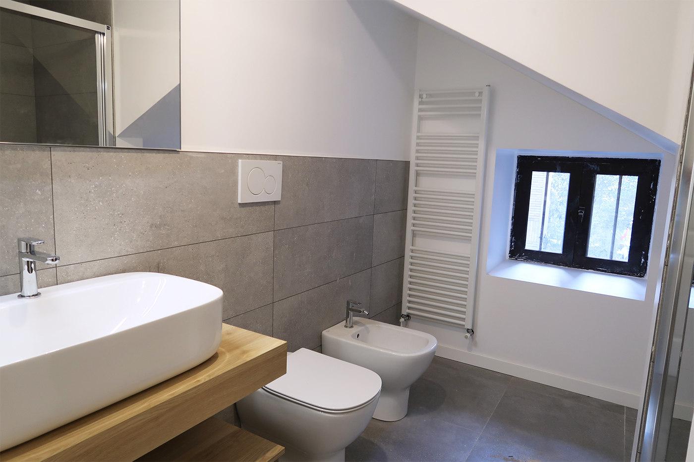 Restyling di una vecchia casa - bagno