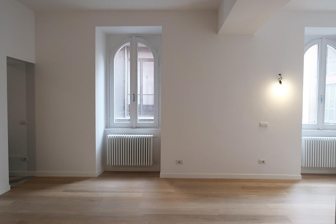 Restyling di una vecchia casa - soggiorno