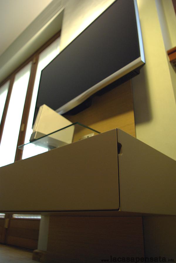 Porta tv da parete progetti di interni - Mobile porta tv da parete ...