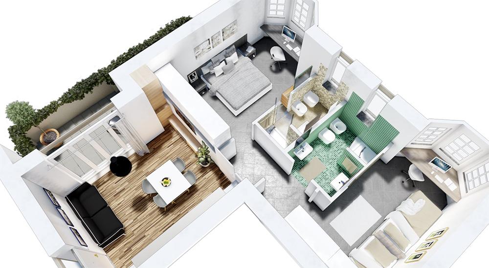 Progettazione interni progetti di interni for Progettazioni interni