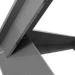 Stand  per fiera ed esposizioni con struttura in legno smontabile e riutilizzabile