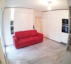 ristrutturazione appartamento minimalista