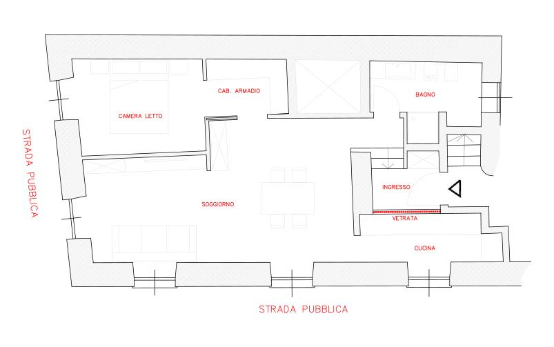 progetto restyling vecchia casa